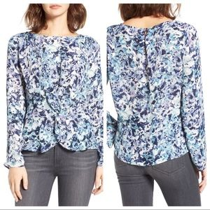Cupcakes and Cashmere Lara Twist Front Top